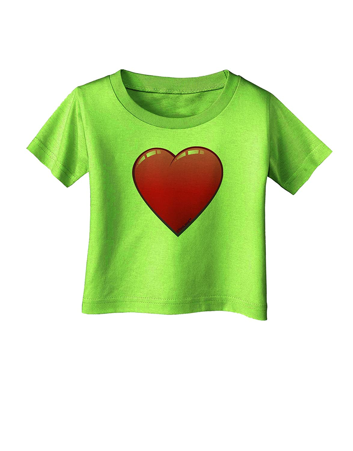 TooLoud Cute Cartoon Heart Infant T-Shirt