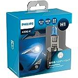 PHILIPS(フィリップス) ヘッドライト ハロゲン バルブ H1 4300K 12V 55W クリスタルヴィジョン CrystalVision 輸入車対応 2個入り CV-H1-2