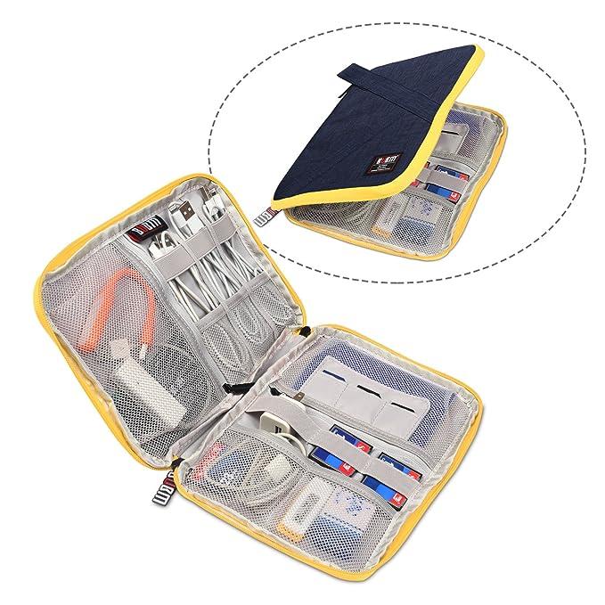 Amazon.com: Electronic accesorios bolsa para cable usb ...