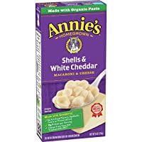 Deals on 12 Pack Annies Shells & White Cheddar Macaroni and Cheese 6oz