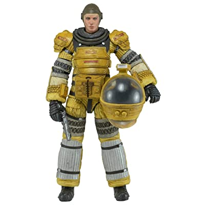 "NECA Aliens - Series 6 Amanda Ripley Torrens Space Suit Action Figure (7"" Scale): Toys & Games"