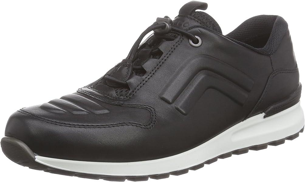 Ecco Damen Sneaker Größe 41 Schwarz (schwarz): Schuhe