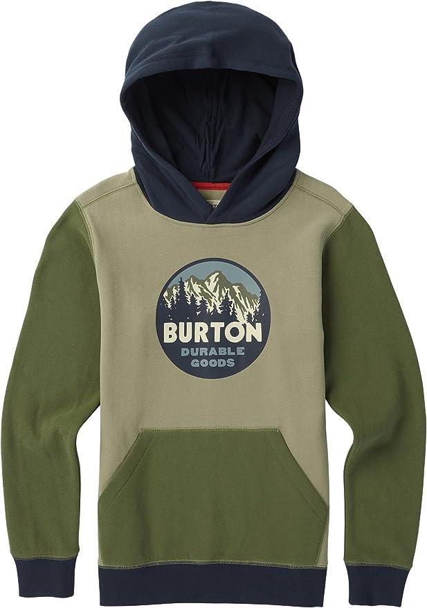 Burton Retro Mountain Felpa con Cappuccio Unisex Bambini
