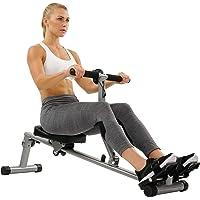 Sunny Health & Fitness Máquina de Remo Remadora con 12 Resistencia Ajustable c/Monitor Digital SF-RW1205 de