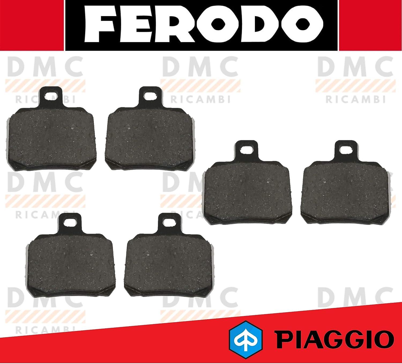 X9 500 FINO AL 2002 FDB2074 KIT PASTIGLIE PASTICCHE FRENO FERODO PIAGGIO X9 180 X9 250 FINO AL 2003 X9 200