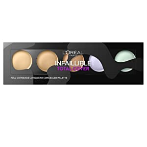 L'Oréal Paris Make Up Designer Infaillible Palette Fond de Teint Total Cover Teinte Universelle
