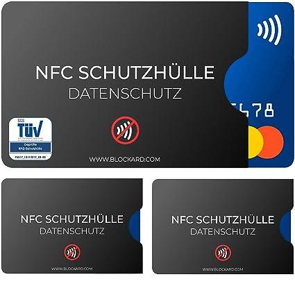 NFC21 - Funda protectora para tarjetas de crédito (3 ...