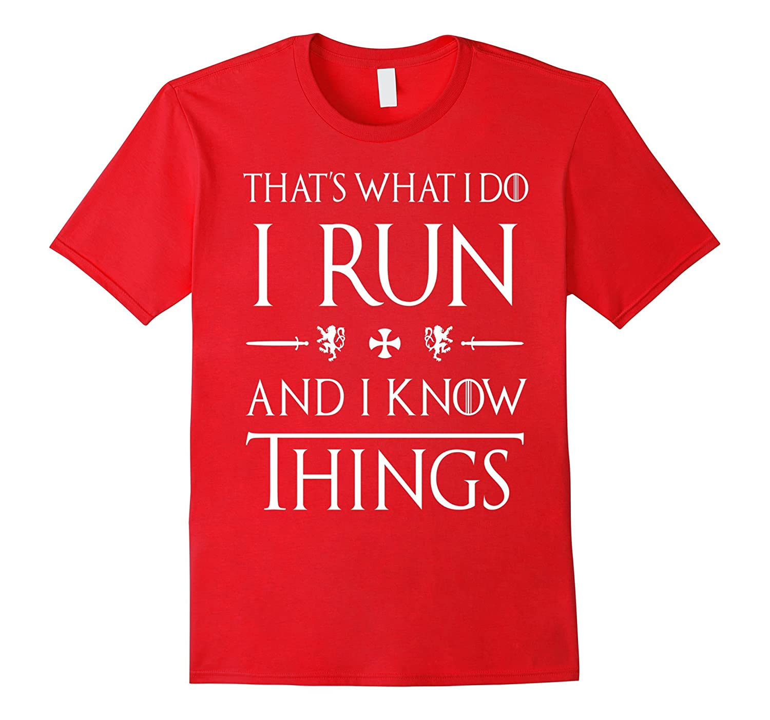 Funny Running T Shirts Gifts. Love to Run Cute Tee.-Art