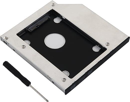 DeYoung 2 nd disco duro HDD SSD Caddy Adaptador para Lenovo ...