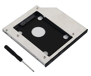 DeYoung 2 nd SATA adaptador de disco duro SSD Caddy para Dell ...