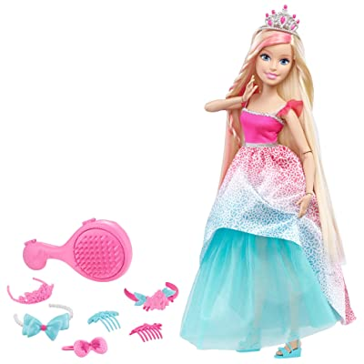 "Barbie Dreamtopia Endless Hair Kingdom 17"" Doll - Blonde: Toys & Games"