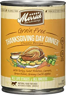 product image for Merrick Classic Grain Free Thanksgiving Day Dinner Canned Dog Food