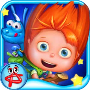 The Adventures of Evie and Ozzy: The Moon Tree Mystery (Paint, Jigsaw Puzzles, Memory Games for Kids)