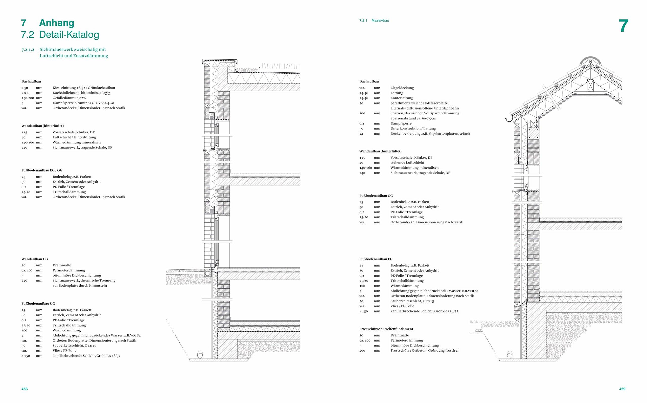 Holzskelettbau detail  Baukonstruktion und Bauphysik: Handbuch und Planungshilfe: Amazon ...