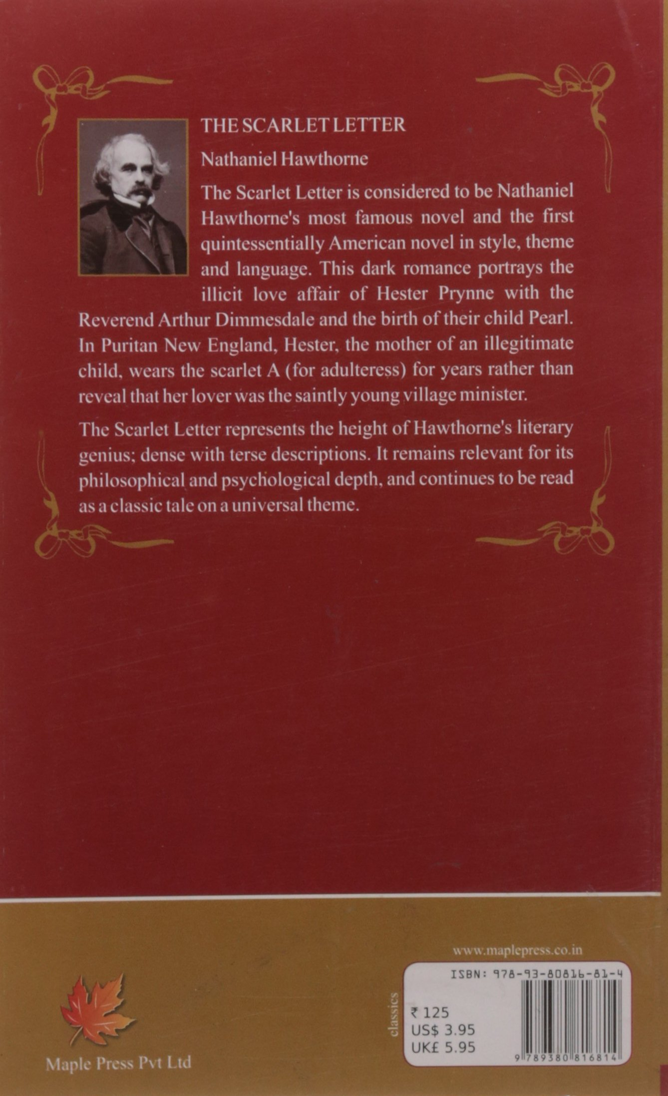 the portrayal of the puritanical society in the scarlet letter Home book reviews the scarlet letter a criticism of puritan beliefs the scarlet letter what should be a symbol of shame for her is portrayed as a symbol of.