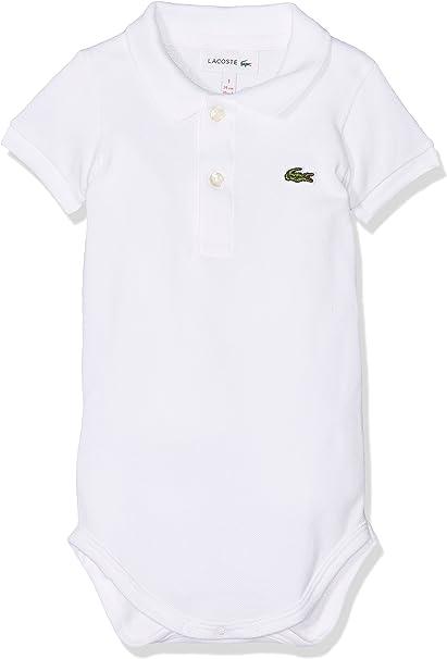 Lacoste 4J2851 Polo, Blanco (Blanc), 0-12 Meses (Talla del ...