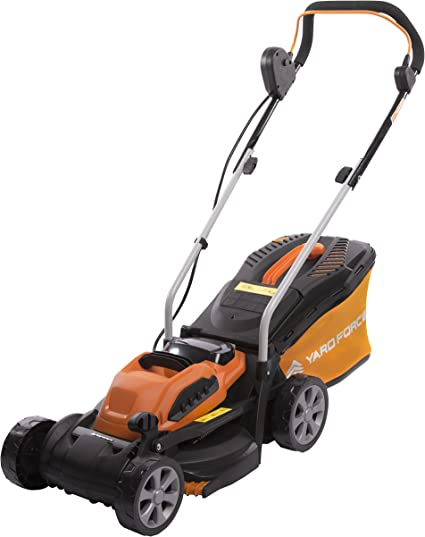 Yard Force Cordless Lawn Mower - Innovative and Rechargeable