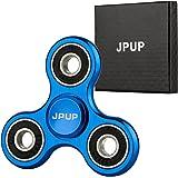 JPUP 正规品 メーカー直営 ・1年保証付 ハンドスピナー 金属仕樣で 1 - 6分平均スピン 靑い SY-1