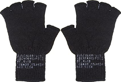 Army Universe Fingerless Wool Gloves Genuine GI Military Cold Weather Type  II Inserts Tactical Liners USA 785708d1372