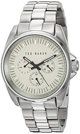 a0d4bc761 Image Unavailable. Image not available for. Color  Ted Baker Men s 10025264  Vintage Analog Display Japanese Quartz ...