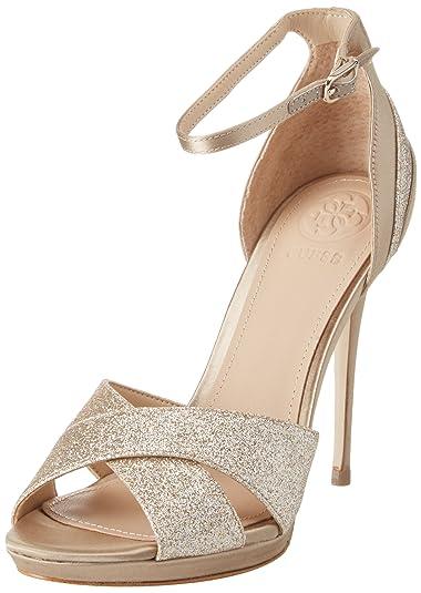 3a4e7b356 Guess Footwear Dress Sandal, Escarpins à Plateforme Femme