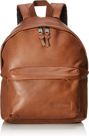 Eastpak - Padded pakr/Leather - Mochila - Brownie Leather ...