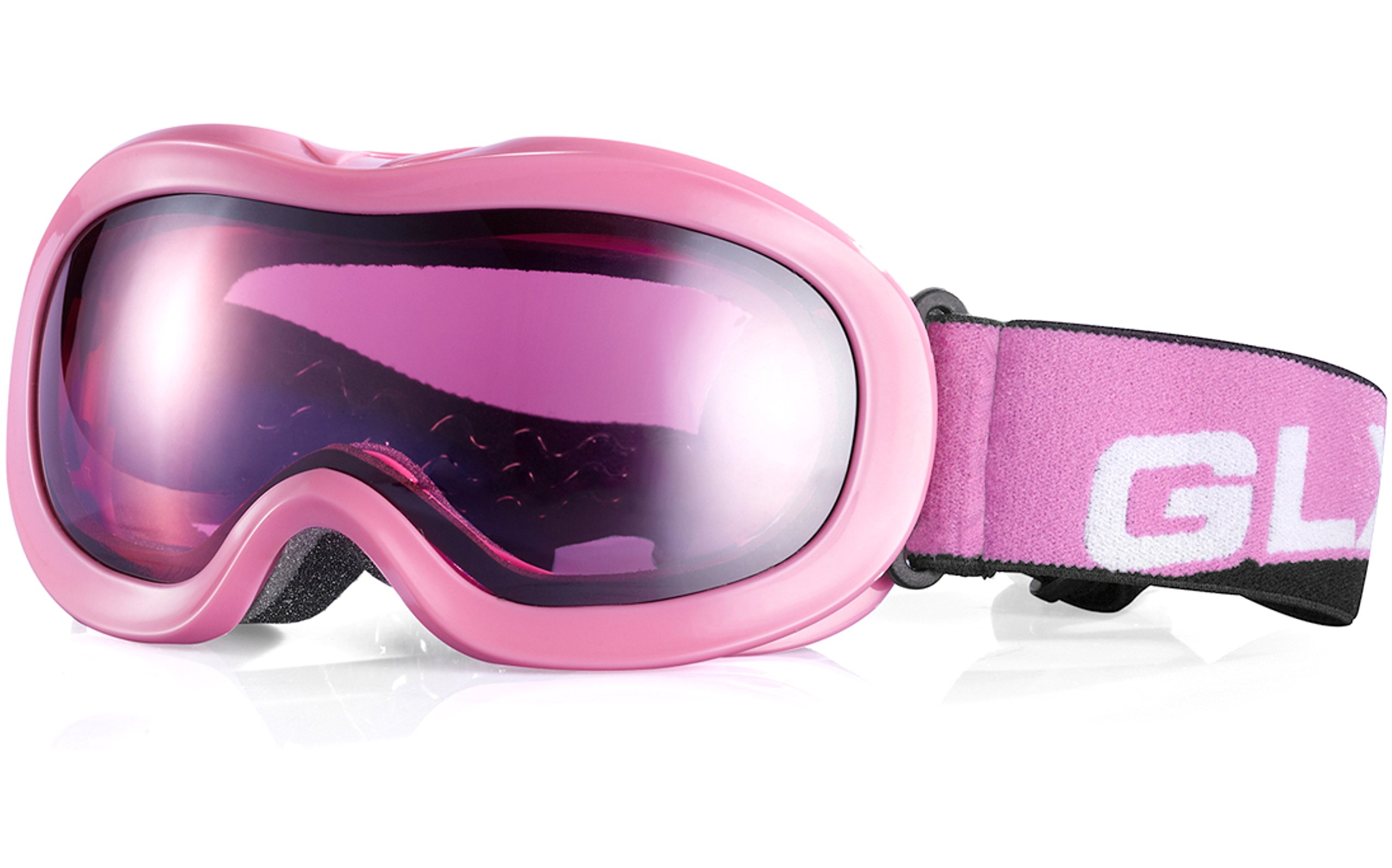GLX Ski, Snowboard, Snowmobile, Snow, Interchangeable Goggles for Youth Kids Boys Girls UV 400 Protection Helmet Compatible Safe Eyewear