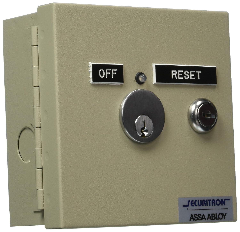 Amazon.com: Securitron far-12 Alarma contra incendios Reset ...