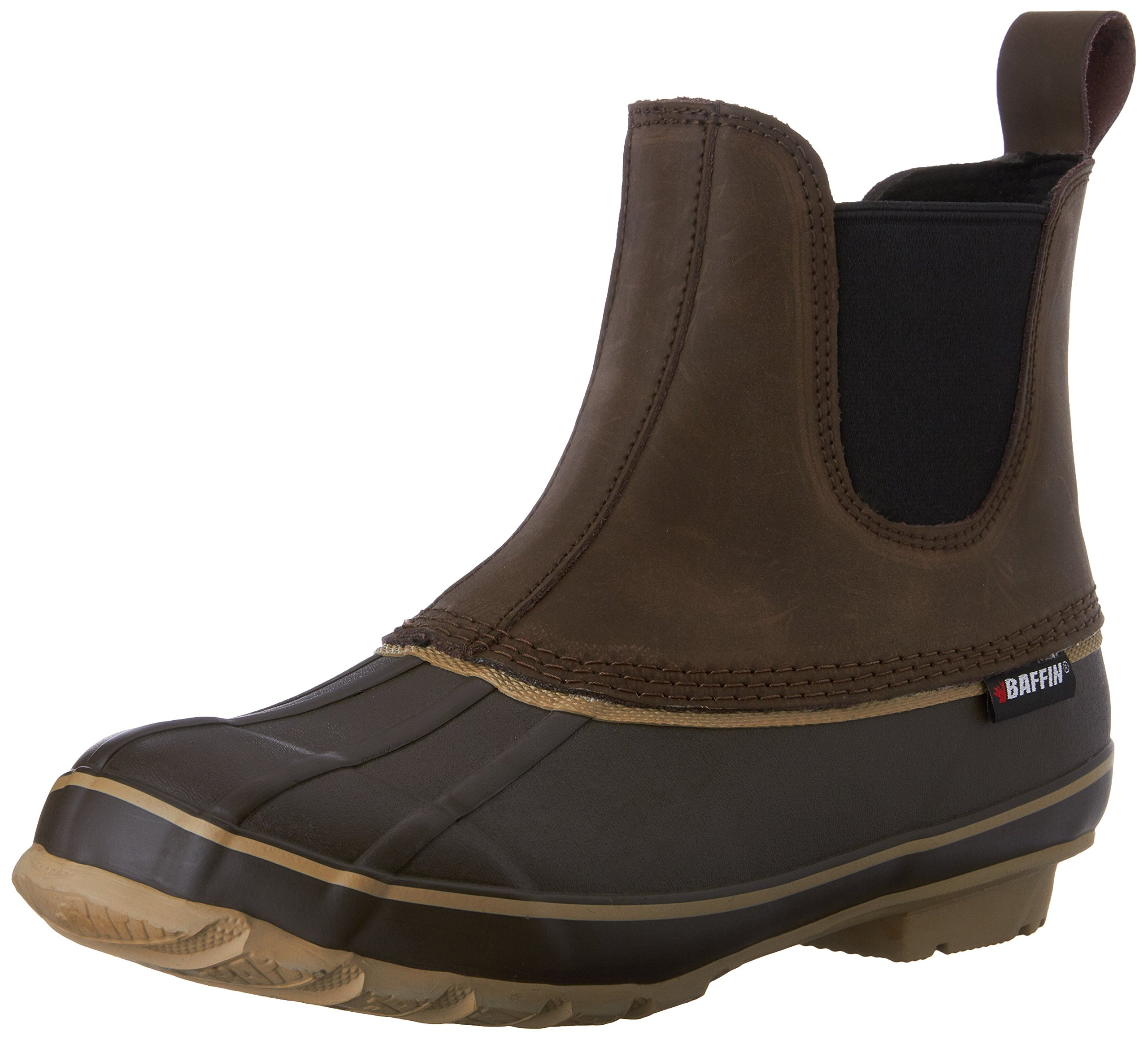 Baffin Men's Bobcat Rain Boot,Brown,10 M US by Baffin