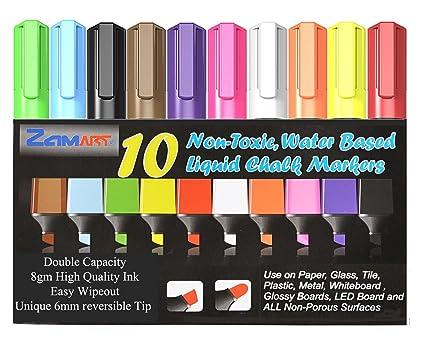 Líquido marcadores de pizarra - Bold, Vibrant bolígrafo con ...