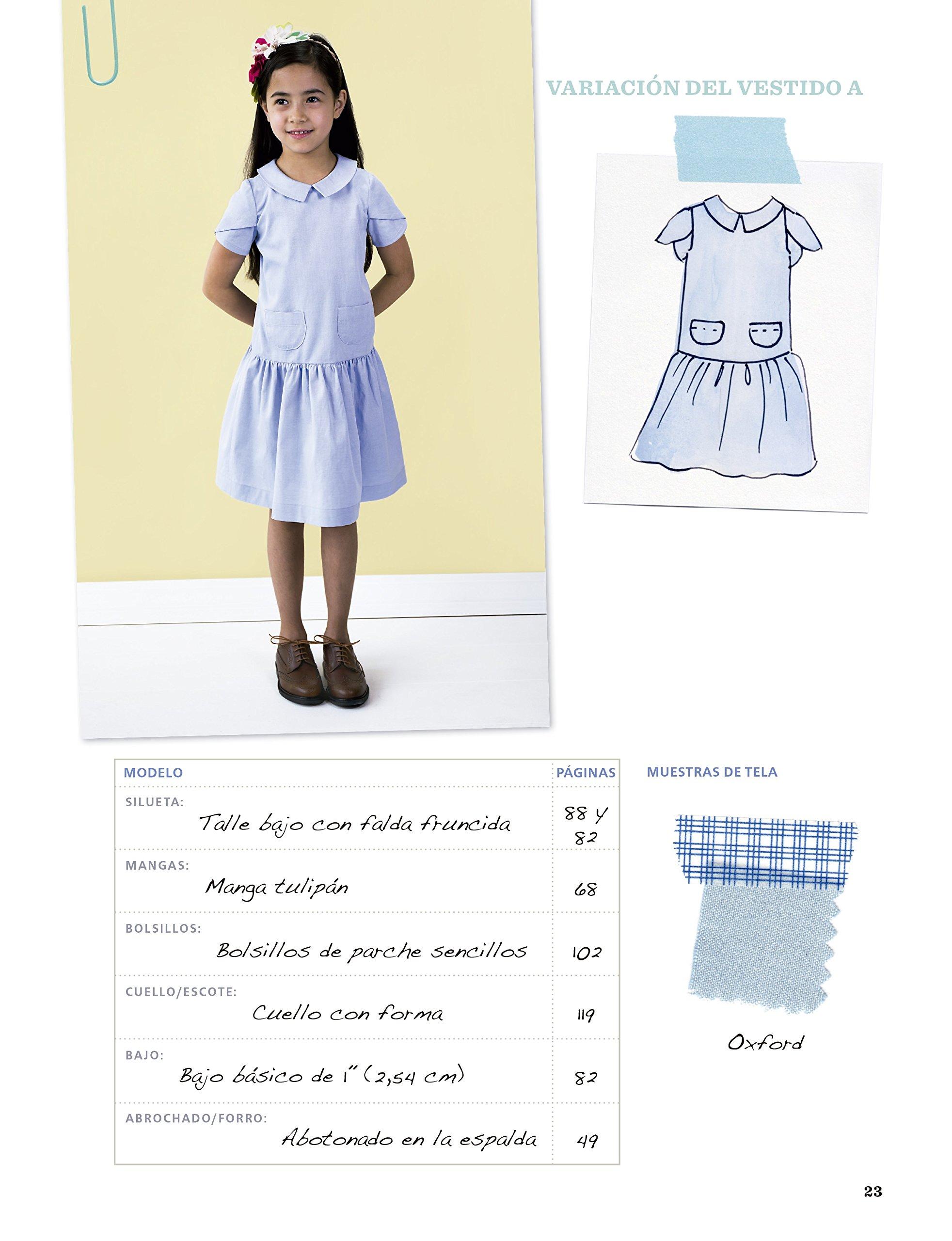 Oliver + S Diseño y confección de vestidos de niñas: Amazon.es ...