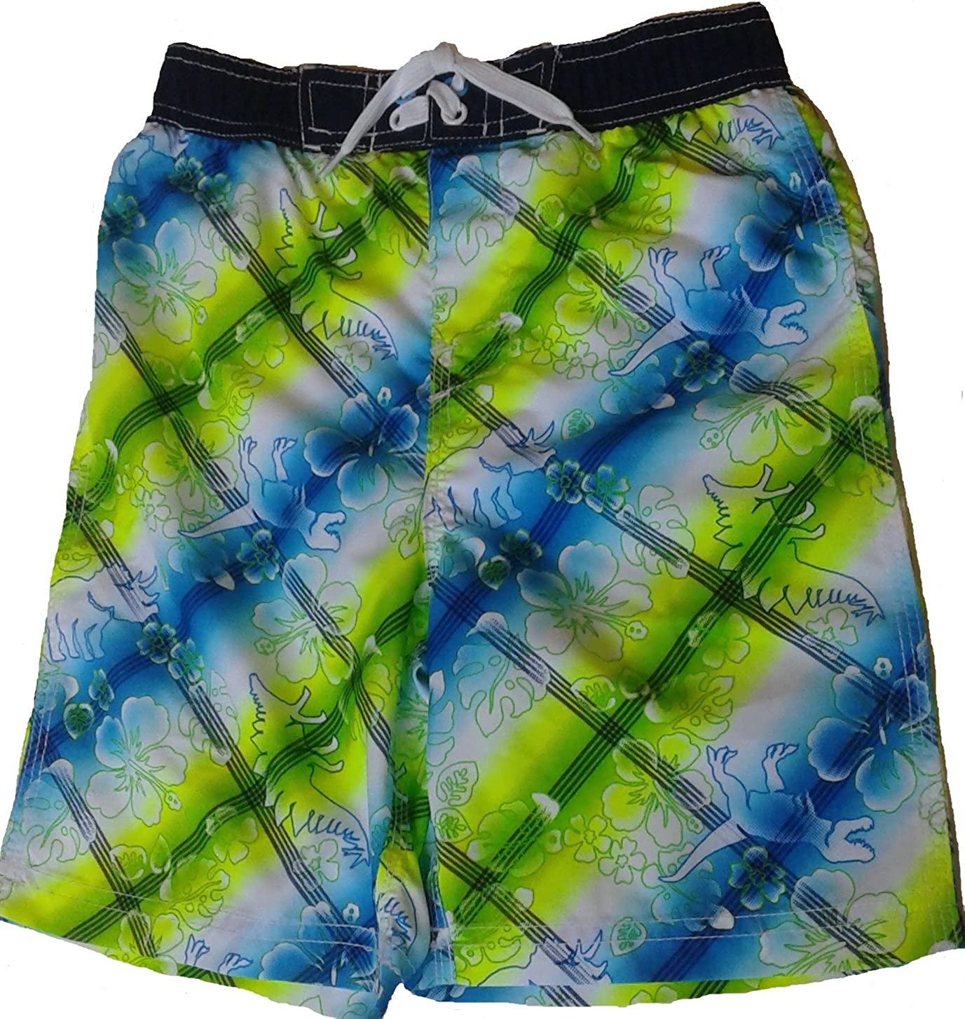Small 8 Boys Mambo Australia Stars /& Stripes Patroitic Swim Trunks Shorts