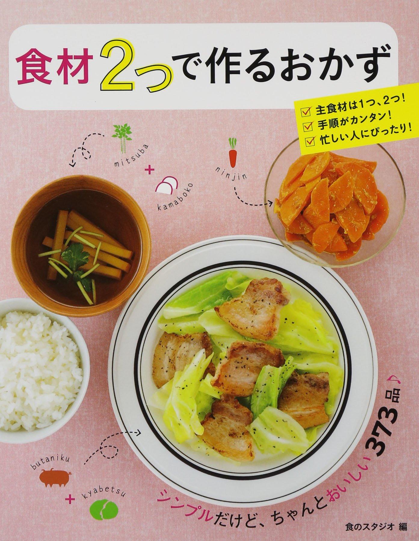 Download Shokuzai futatsu de tsukuru okazu : shinpuru dakedo chanto oishii pdf epub
