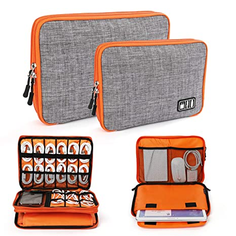 BUBM Travel Digital Storage Bag USB Charger Case Cable Organizer For Ipad PL 3D Puzzles