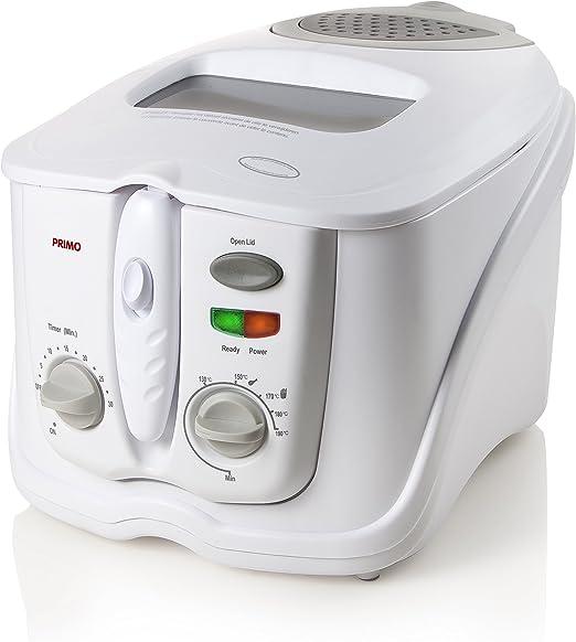 Primo freidora (df1-ws) – 3L – resistente al lavavajillas: Amazon ...