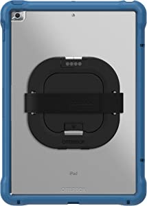 OtterBox UnlimitEd SERIES Case with Kickstand & Hand Strap + Screen Protector for iPad 8th & 7th Gen (10.2