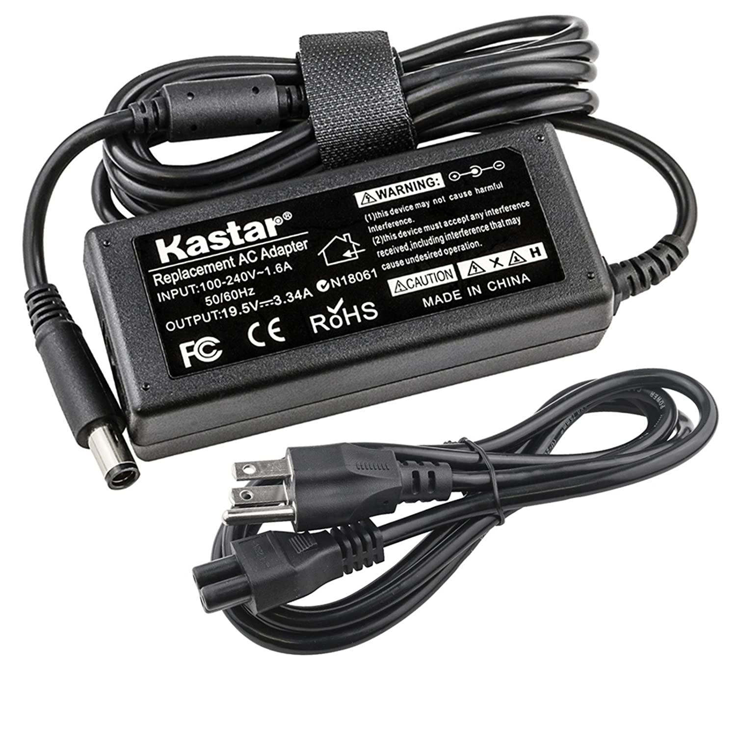 Kastar Replacement AC Adapter for PA-12 Dell Laptop PA-1650-05D2 U7088 F7970 N2765 AA22850 PA-1650-05D 310-4408 1X917 310-2860 5u092 PADL012 Inspriron ...