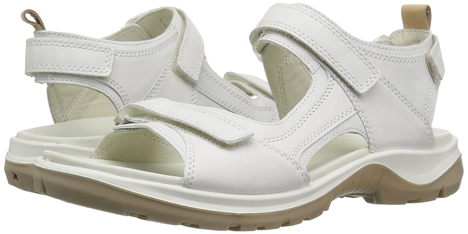 ECCO Women's EU/12-12.5 Yucatan Sandal B076ZTS8HD 43 EU/12-12.5 Women's M US|White/Powder 112435