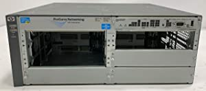 HP J8697A ProCurve switch 5406zl w/ J8712A Power Supply 6x Open Bays +Rack Ears