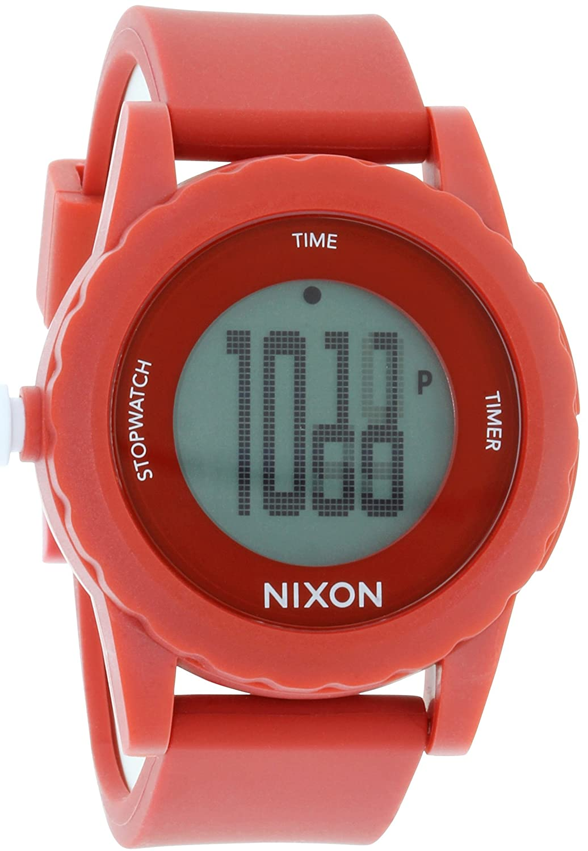 Amazon.com: Nixon Mens A326-200 Alakazam! The Genie Red/Black Digital Plastic Watch: Nixon: Watches