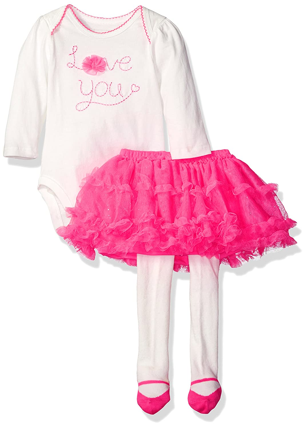 The Childrens Place Baby Girls Top and Skirt Set