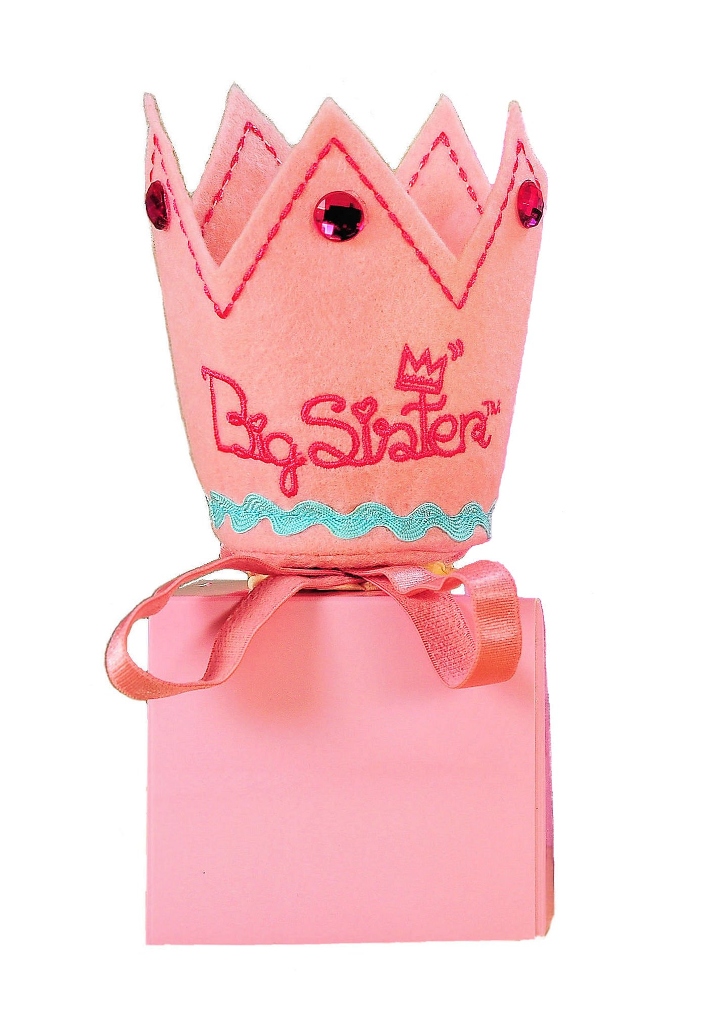 Tickle & Main Big Sister Gift Set- I Hereby Crown You Big Sister Book, Doll, and Child Size Crown by Tickle & Main (Image #5)