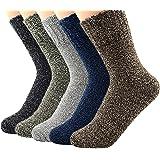 Century Star Women's Vintage Winter Soft Wool Warm Comfort Cozy Crew Socks Gift Socks For Women