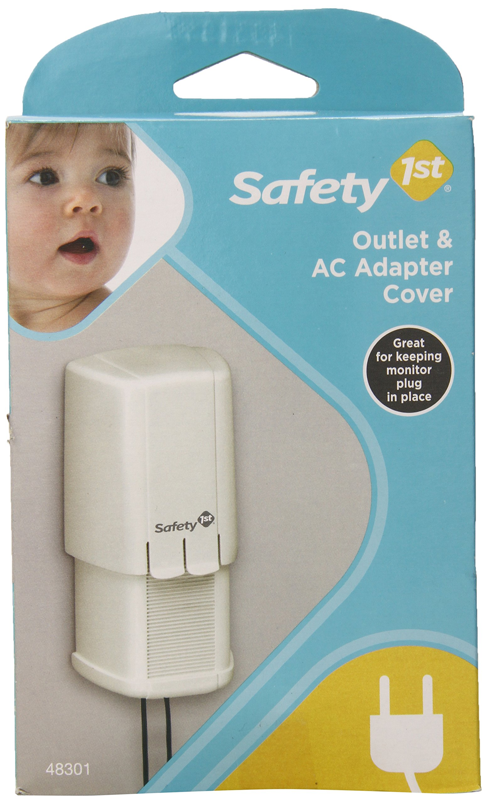 Safety 1st Adapter and Plug Cover by Safety 1st