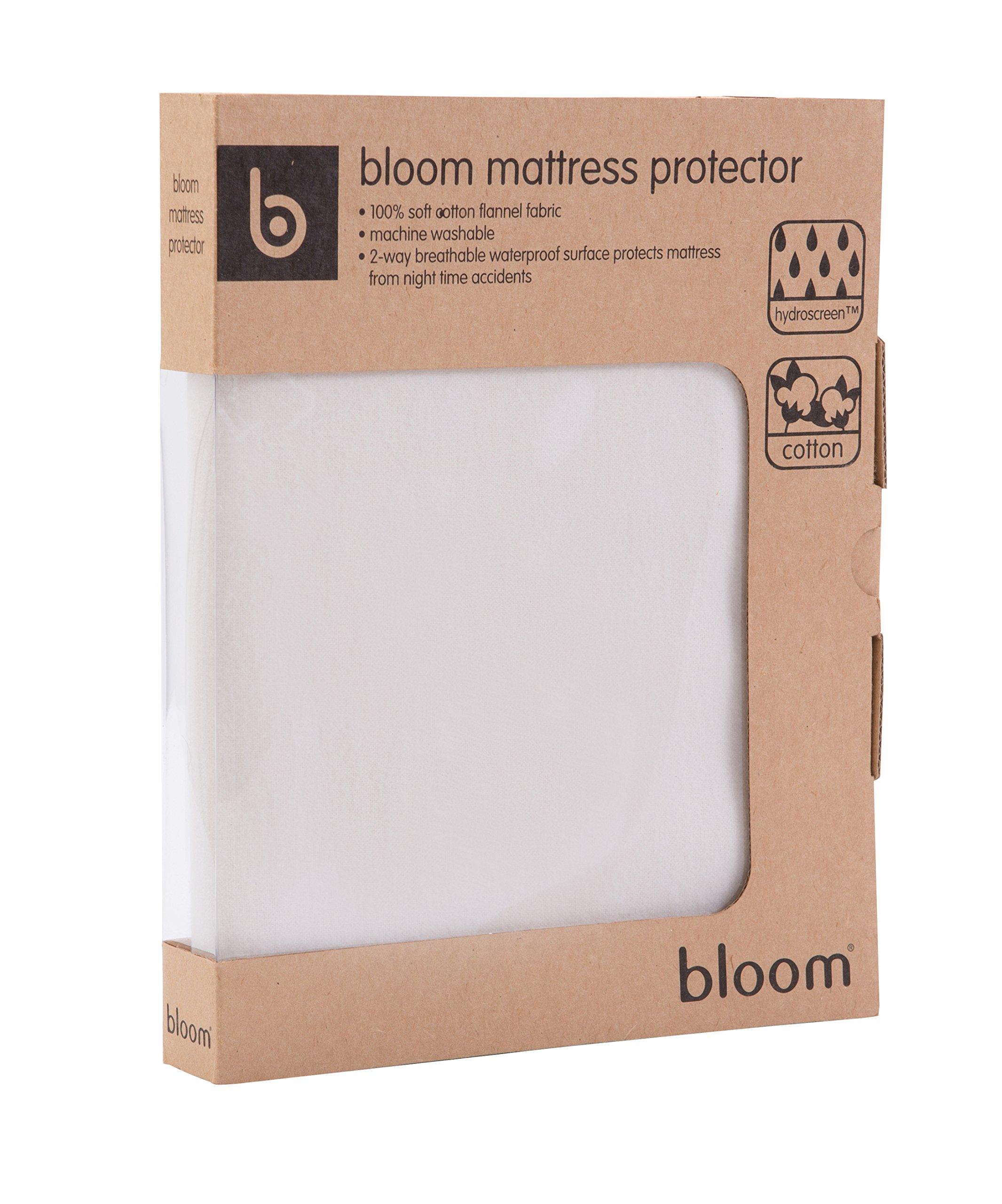 Bloom Universal Mattress Protector, Natural Wheat, Small