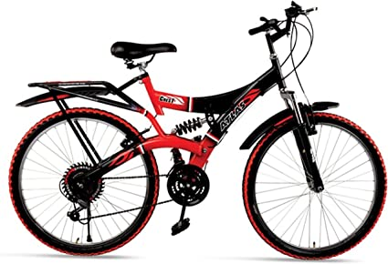 dd304fa1fd2 Buy Atlas Crest Front Disc And Dual Suspension 18 Speed Bicycle (26T ...