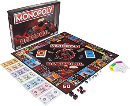Amazon.com: Hasbro Gaming Monopoly Game: Marvel Deadpool ...