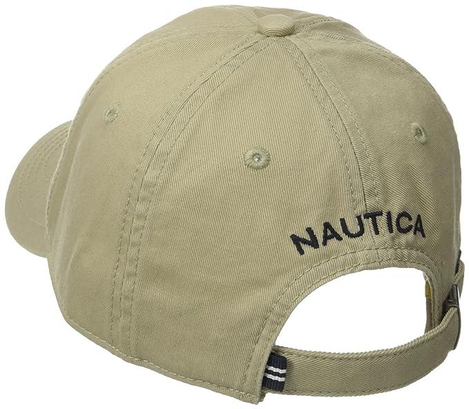 Nautica Men s Twill 6-Panel Cap 33a4a899e6a7