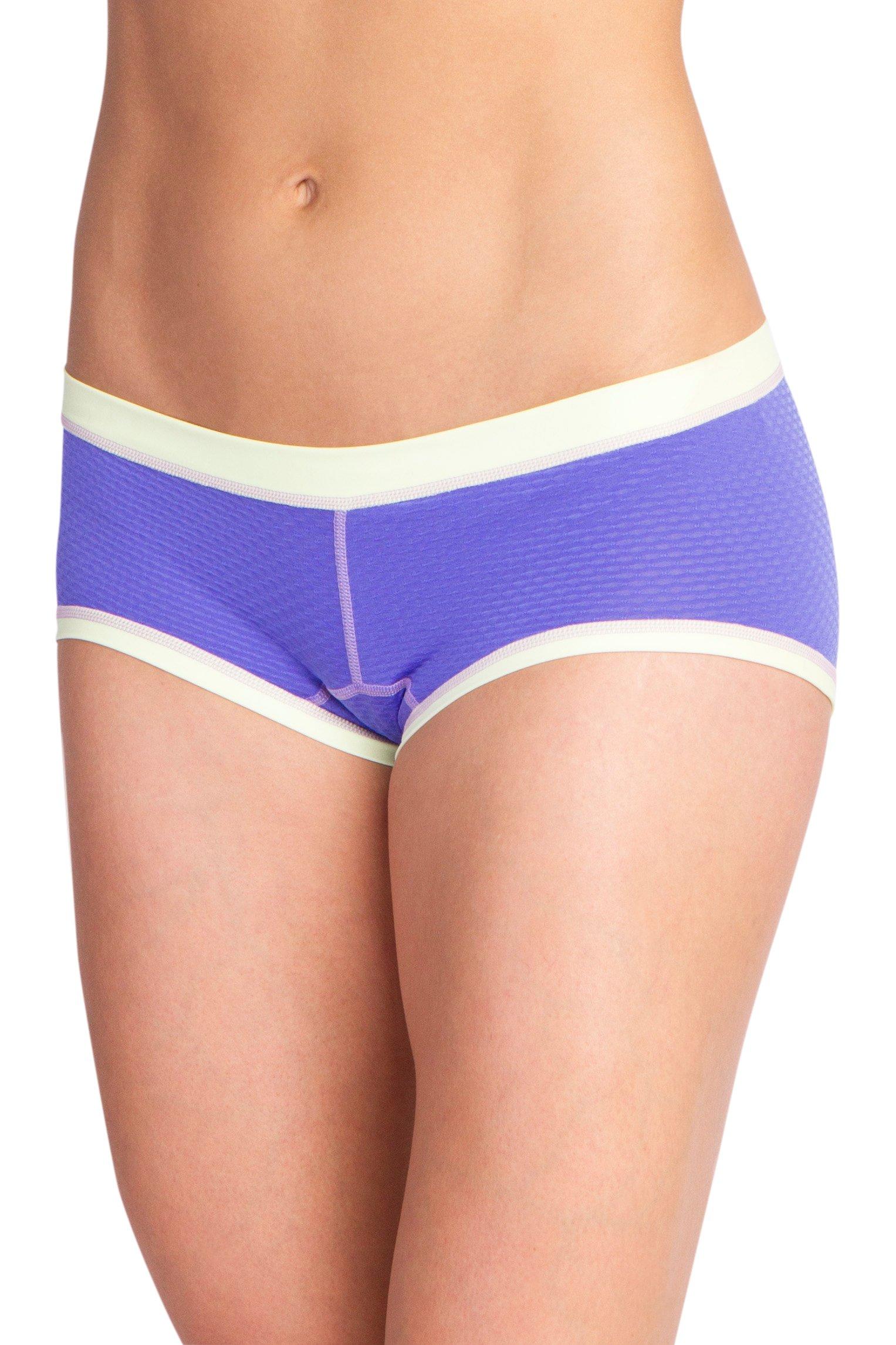 ExOfficio Women's Give-N-Go Sport Mesh Hipkini, Blue Iris, Small