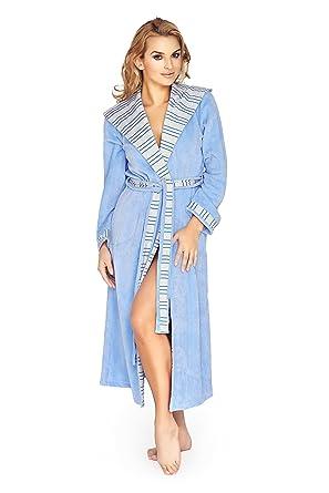 Wanmar Womens Luxury Soft Cotton Robe Housecoat Dressing Gown ...